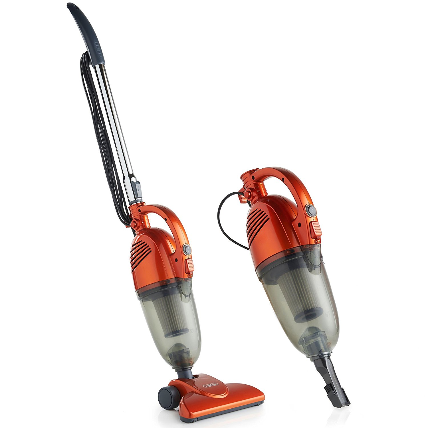 VonHaus 600W 2-in-1 Corded Upright Stick & Handheld Vacuum Cleaner with HEPA Filtration