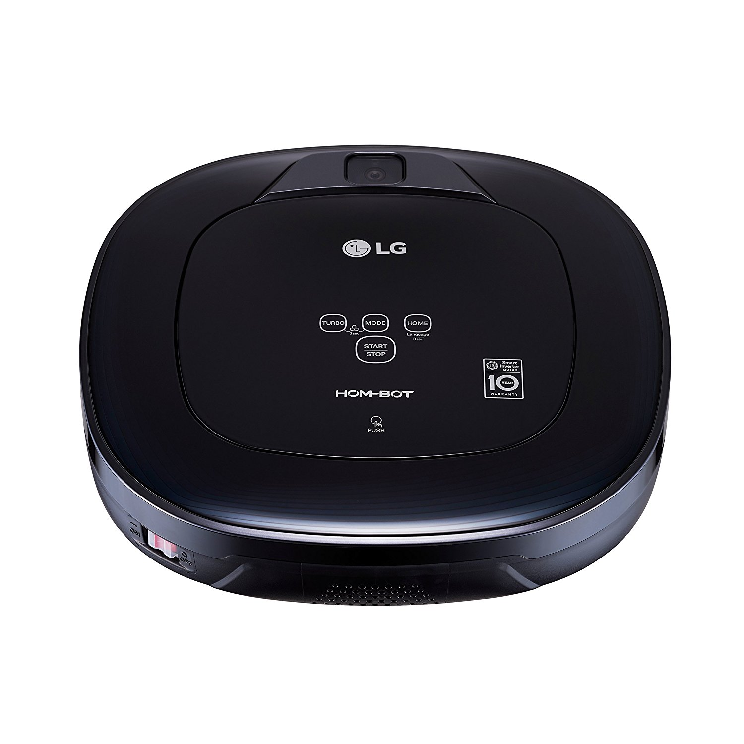 LG Hom-Bot Square Robotic Vacuum with Mop