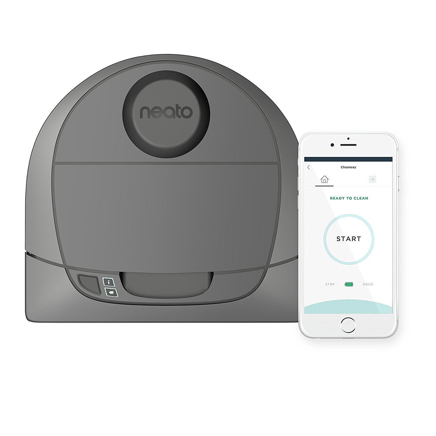 Neato Botvac D3 Wi-Fi Connected Laser Navigating Robot Vacuum