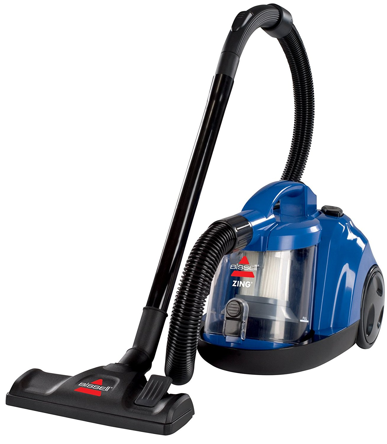 BISSELL Zing Rewind Bagless Canister Vacuum, Corded