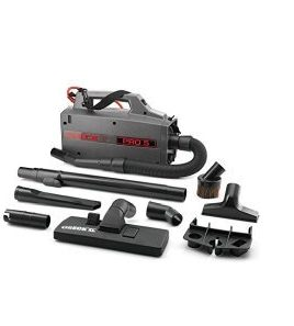 Oreck Commercial BB900DGR XL Pro 5 Super Compact Canister Vacuum