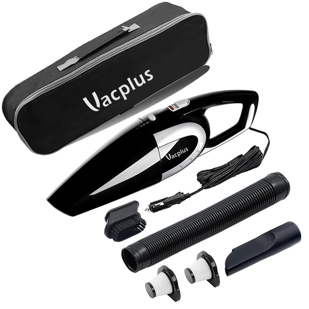 Vacplus 12V Wet & Dry Portable Handheld Vacuum Cleaner