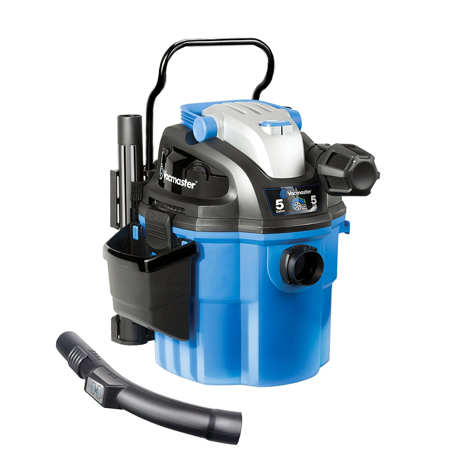 Vacmaster 5 Gallon Wall Mount Wet/Dry Vacuum