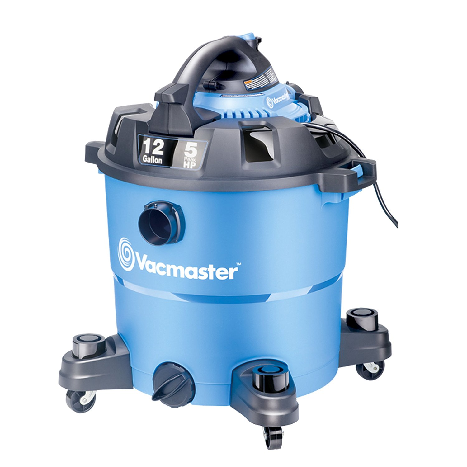 Vacmaster 12 Gallon, 5 Peak HP, Wet/Dry Vacuum with Detachable Blower