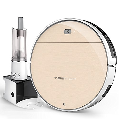 Tesvor V300S Robotic Vacuum Cleaner with Plan Cleaning Tech