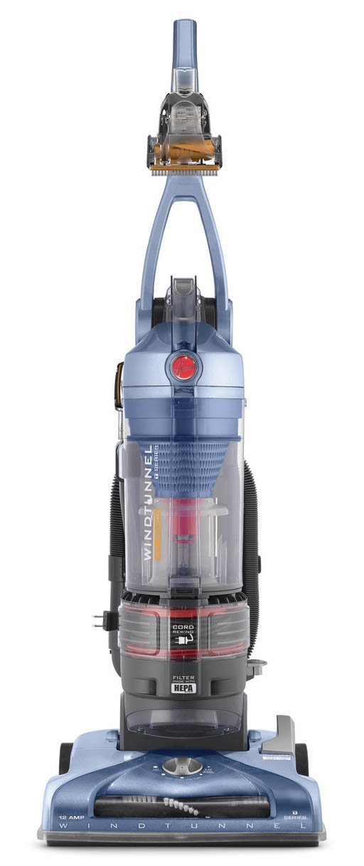 Hoover T-Series WindTunnel Pet Rewind Bagless Upright Vacuum UH70210