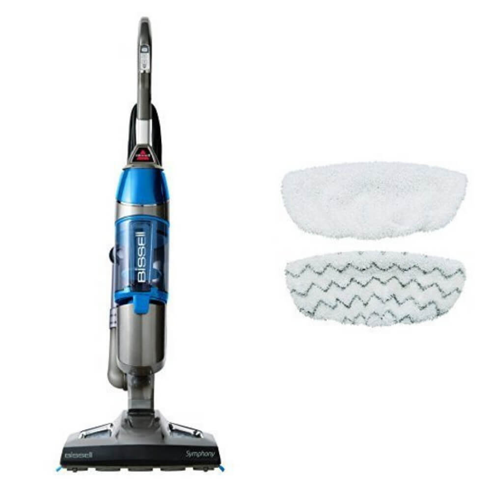 Bissell Symphony Hard Floor Vacuum and Steam Mop Kit