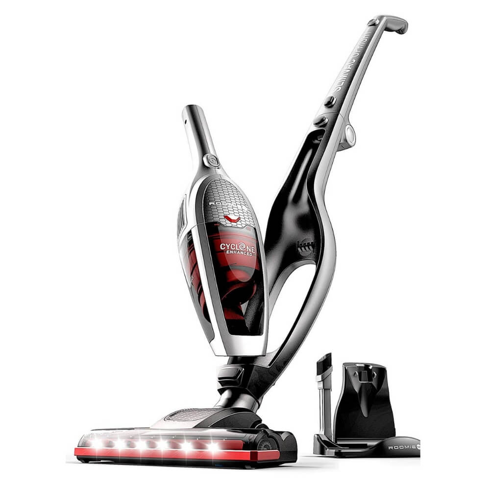 Roomie Tec SL587A 2 in 1 Upright Rechargeable Cordless Vacuum