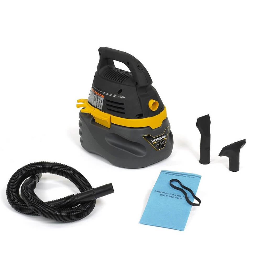 WORKSHOP WS0250VA Compact Portable Wet Dry Vacuum