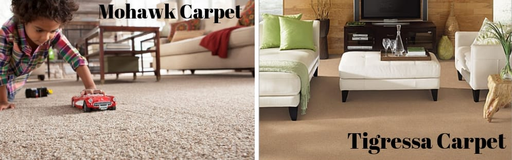 Tigressa and mohawk soft carpet