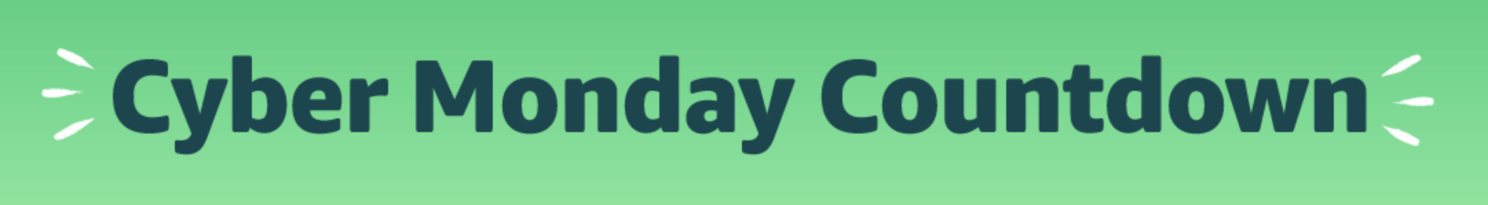 cyber monday countdown 2019